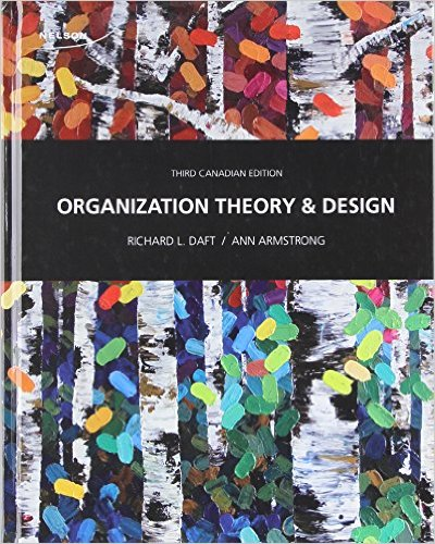 Test Bank For Organization Theory And Design 3rd Edition By Ann Armstrong Richard L Daft Ebookon